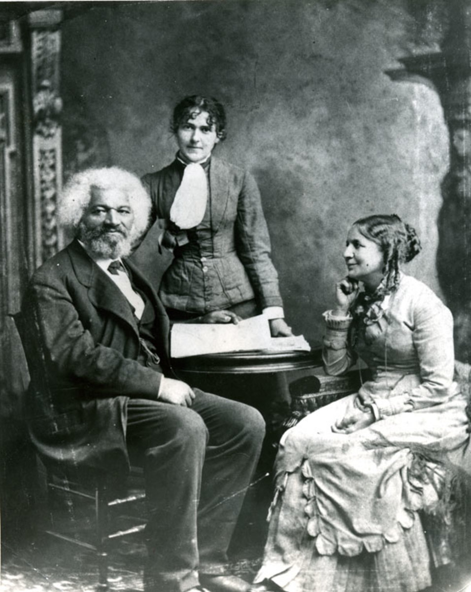 Douglass and his second wife, Helen.