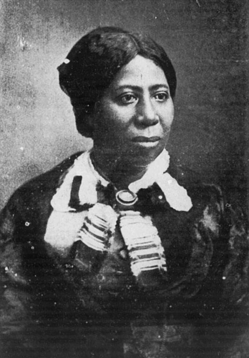 Anna Murray Douglass; Frederick's first wife.