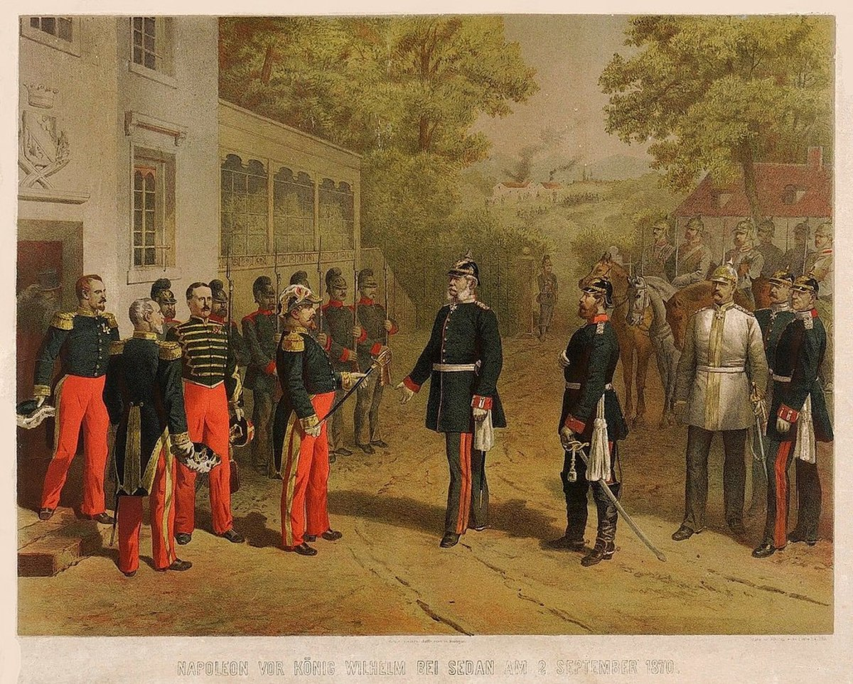 France is defeated in Franco-Prussian War