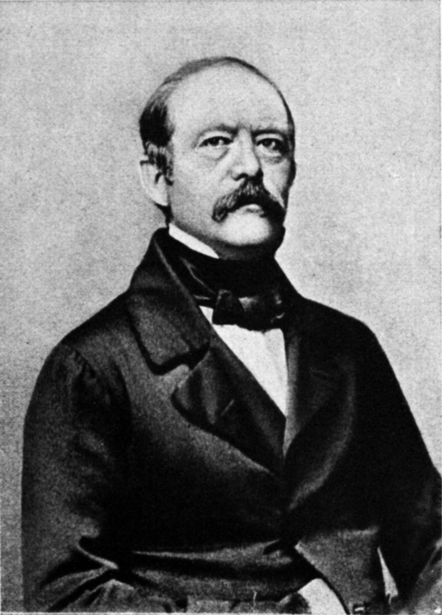 Otto von Bismarck, 1863