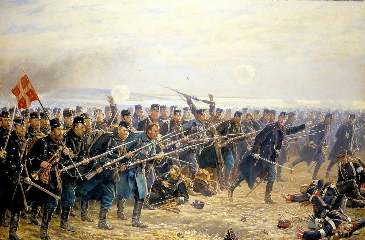 Portrait depicting the Schleswig-Holstein War