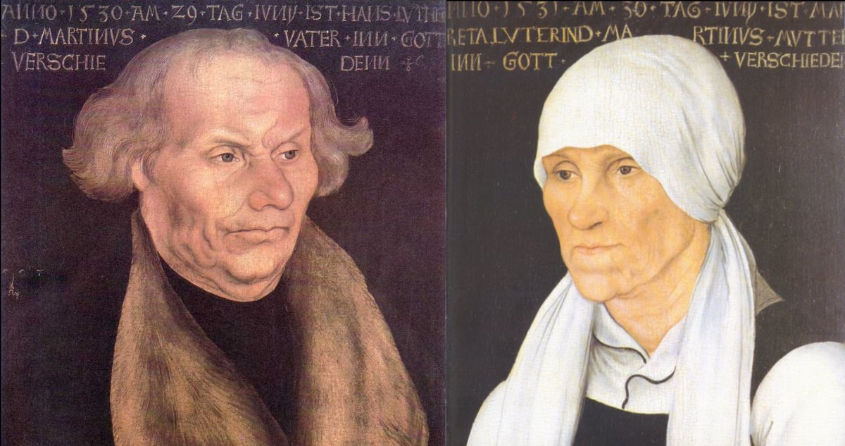 Portrait of Luther's Parents