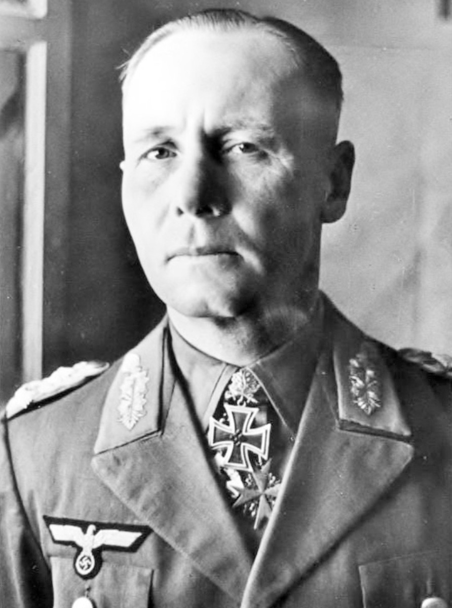 Portrait of Rommel