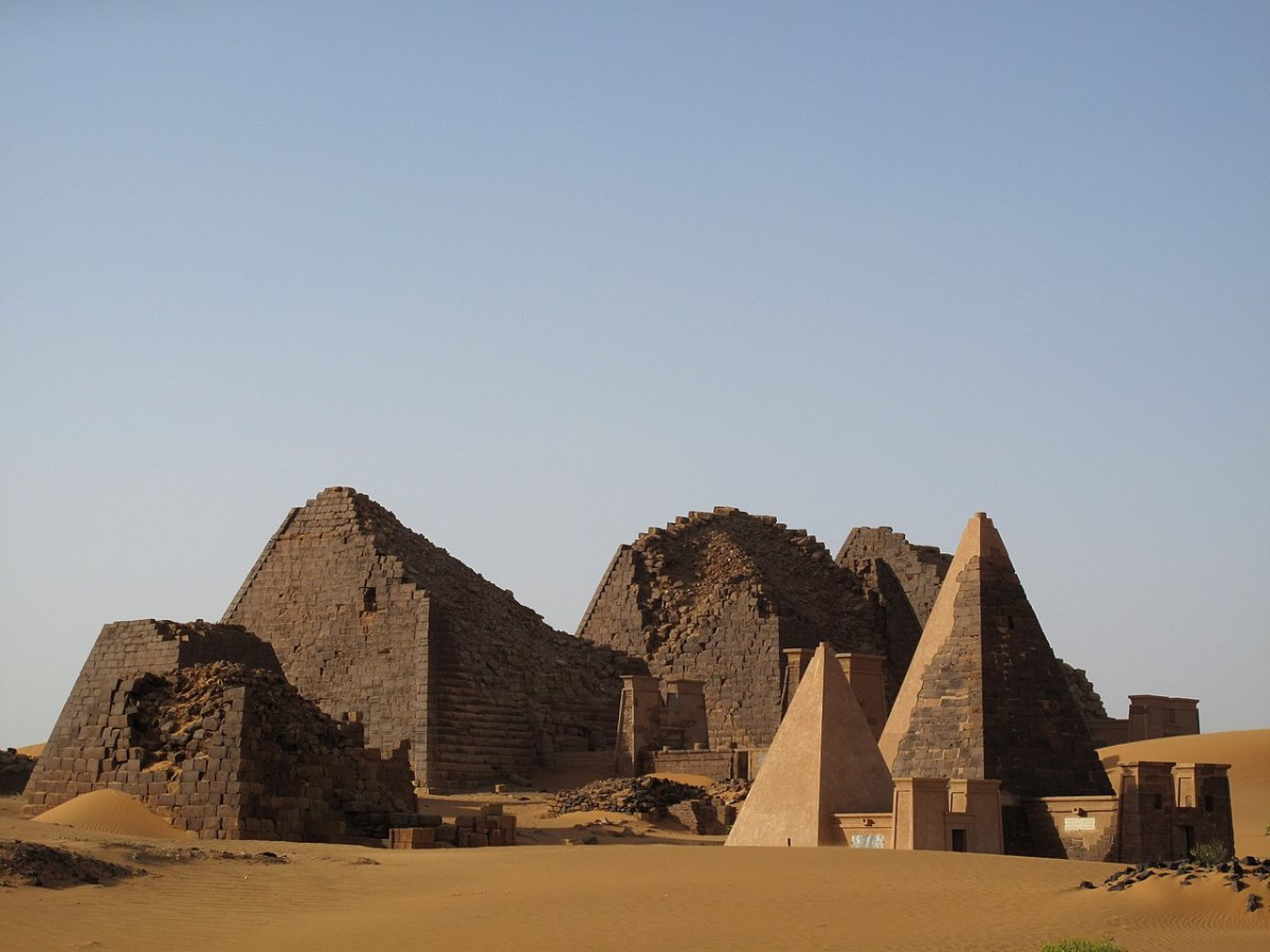 Cemetery located in Meroe.