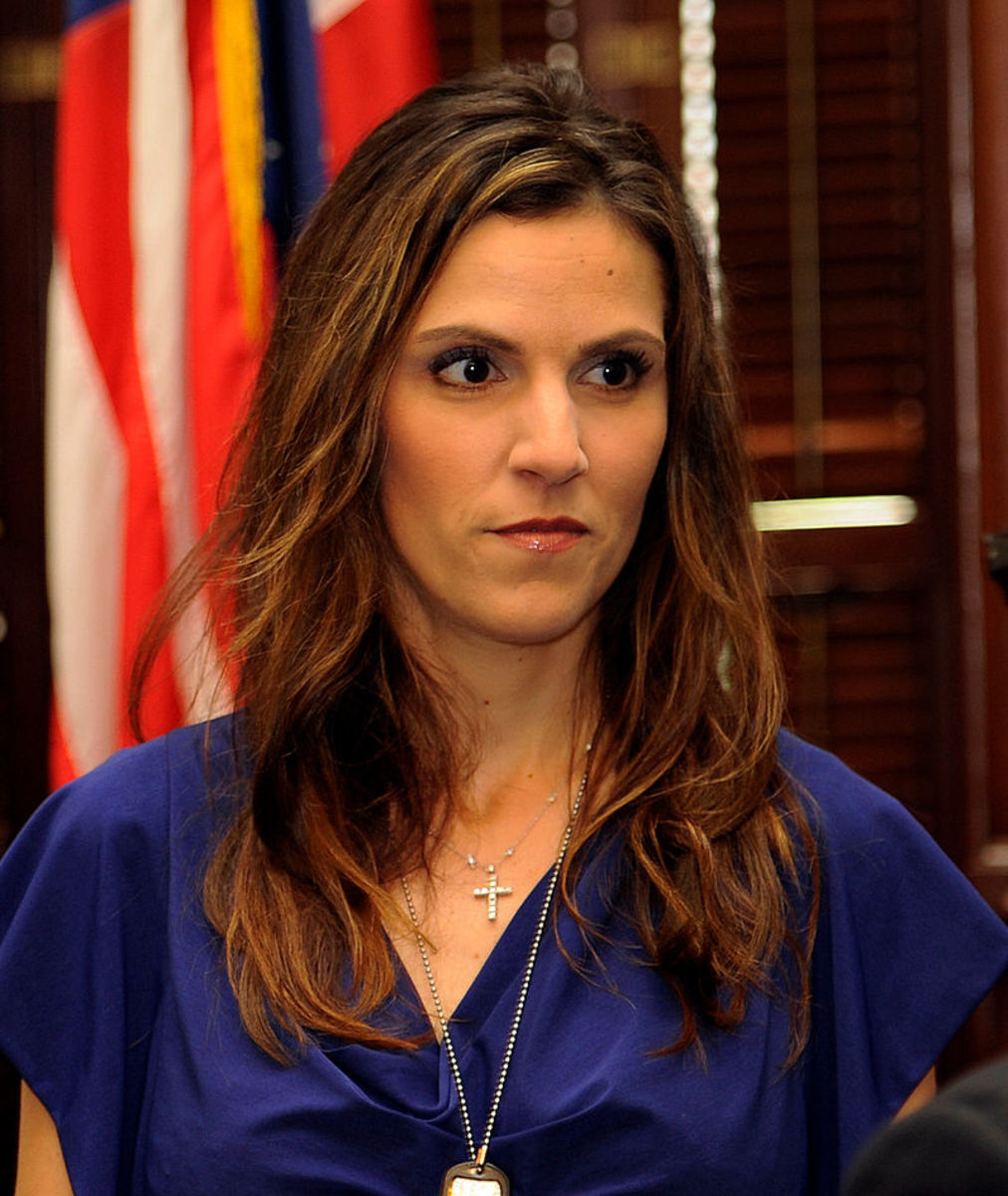 Chris Kyle's wife, Taya.