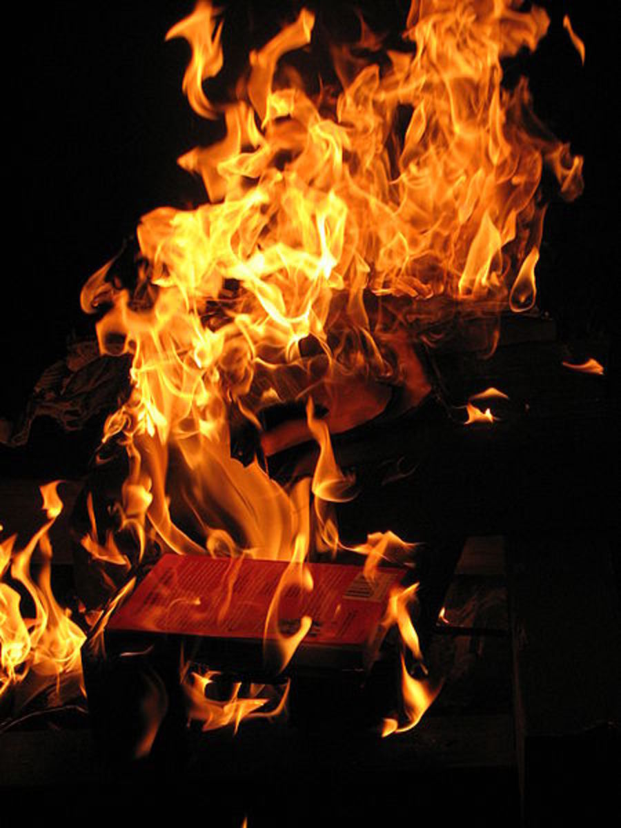 """Manuscripts don't burn."" - Mikhail Bulgakov"