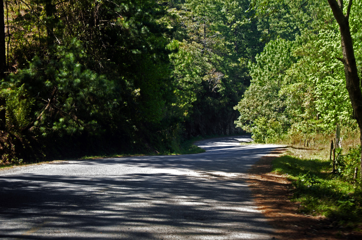 Rural Honduras road