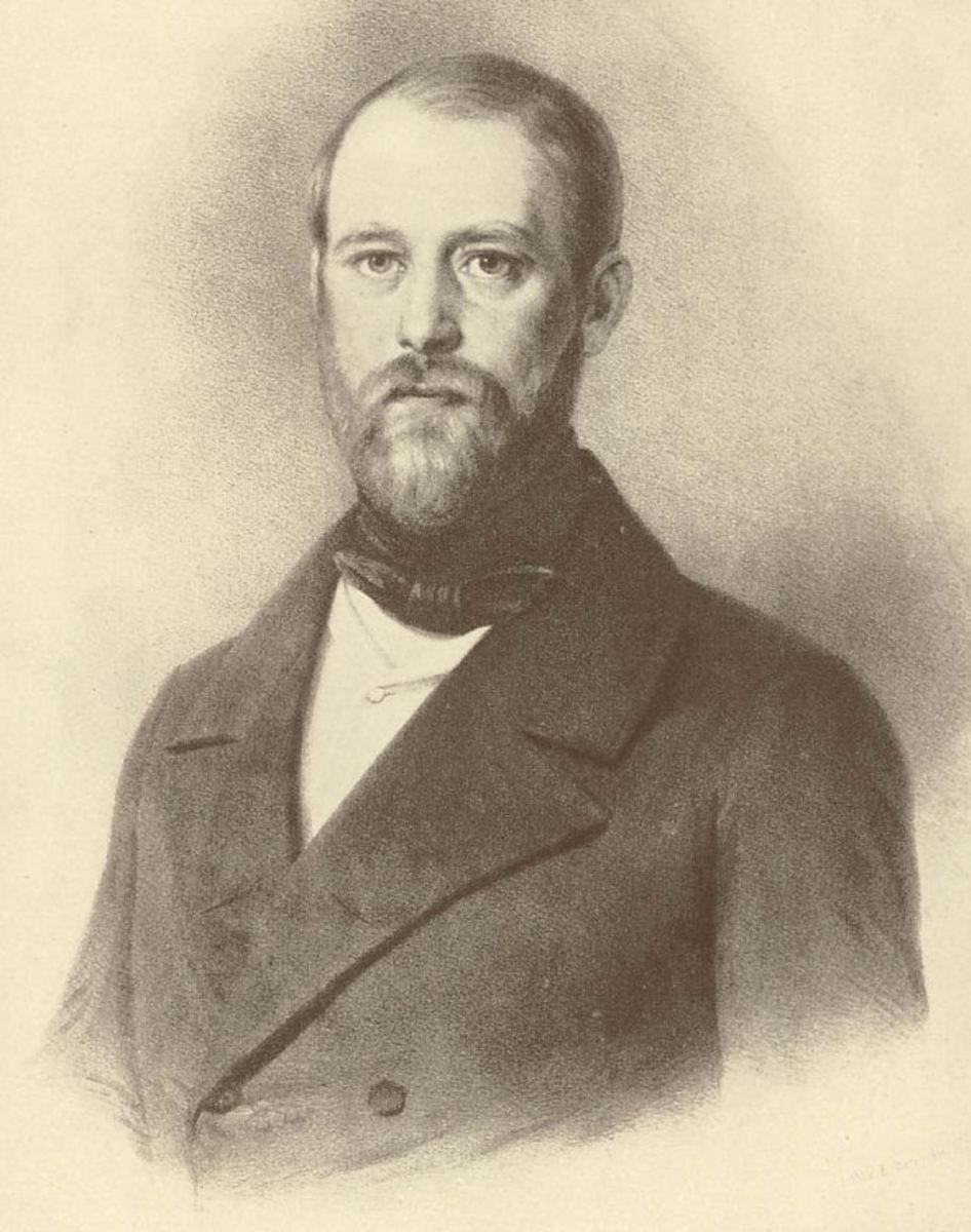 Bismarck in his early Thirties.