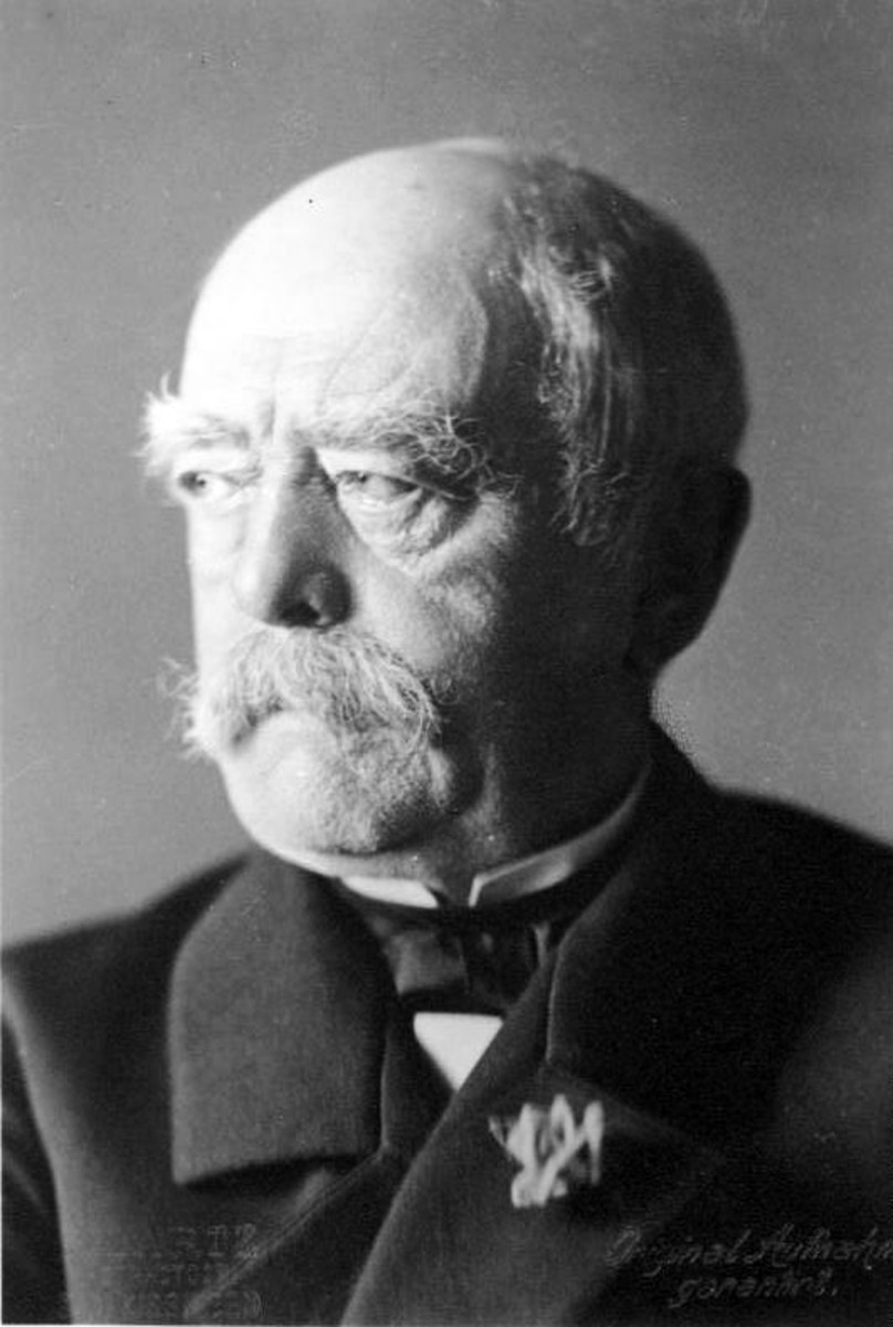 Bismarck in later life.