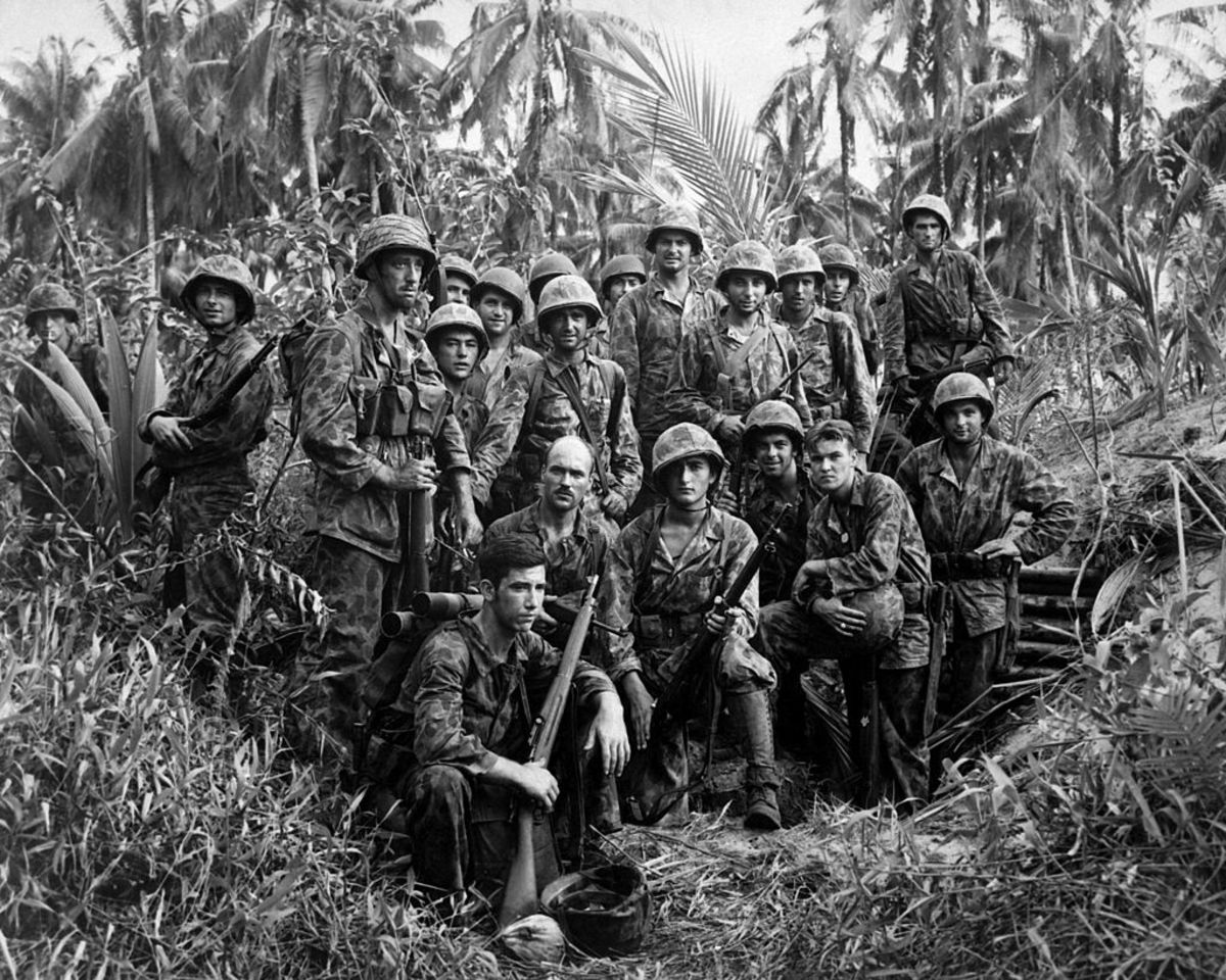 Marine Raiders at Bougainville.