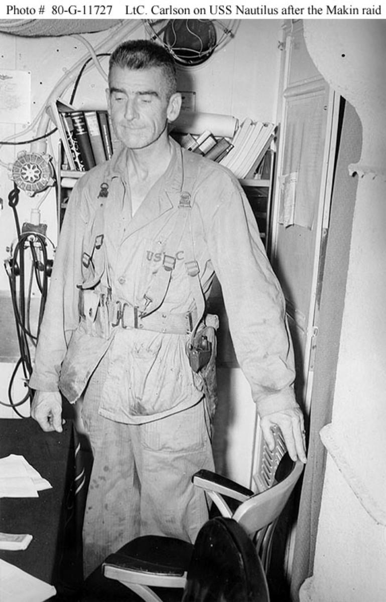 Lieutenant Colonel Evans Carlson.