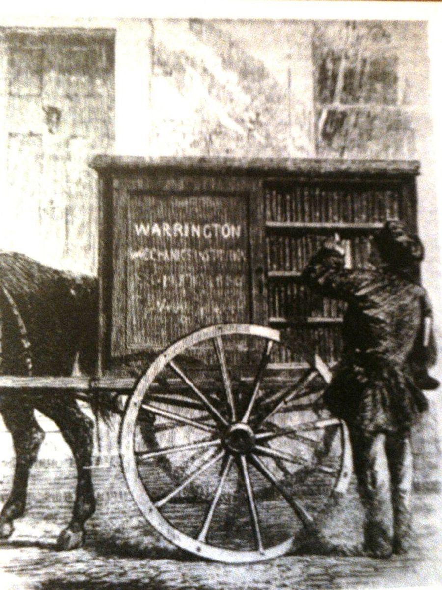 The Warrington Perambulating Library.