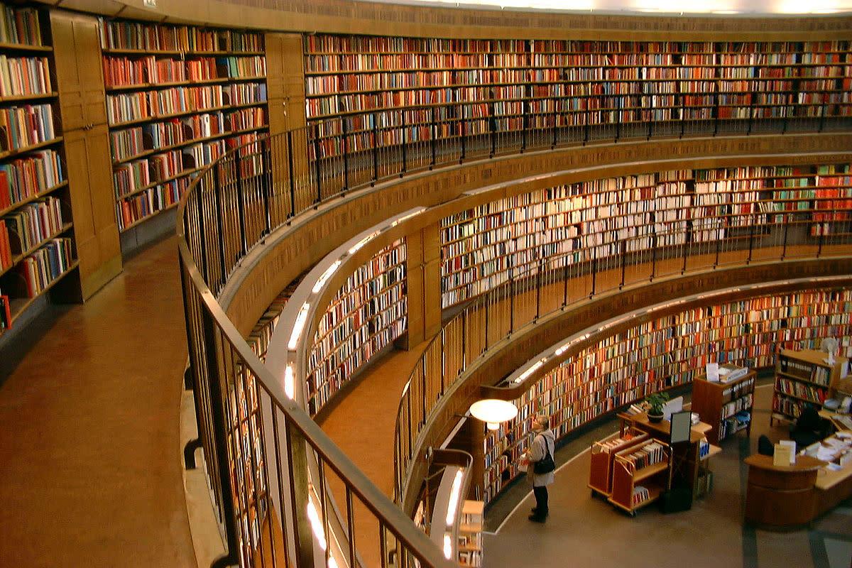 Stockholm Public Library.