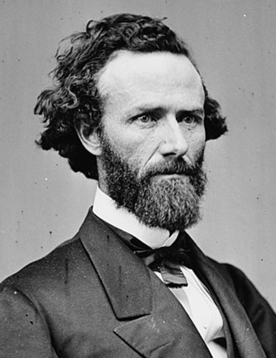 John B. Henderson was an attorney in Louisiana, Pike County, who was commissioned a brigadier general in 1861, in charge of Union forces in northeastern Missouri. He later served in the US Senate.