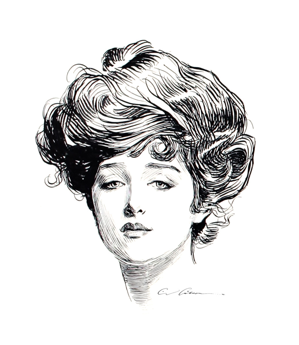 The Most Iconic Gibson Girl, Irene Langhorne.