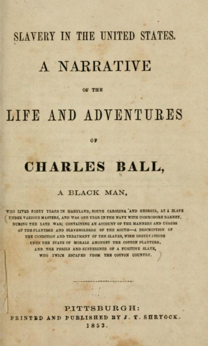 """Life and Adventures of Charles Ball"""