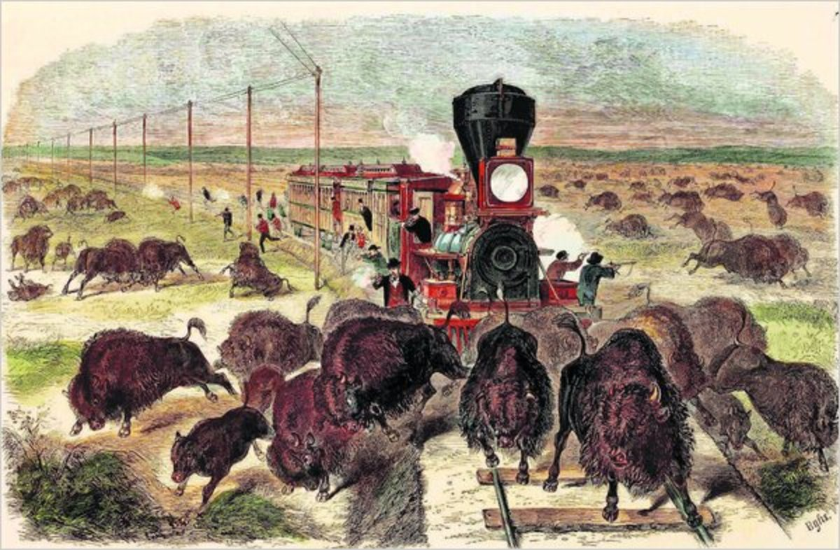 Railroading in the Old West was often a real adventure
