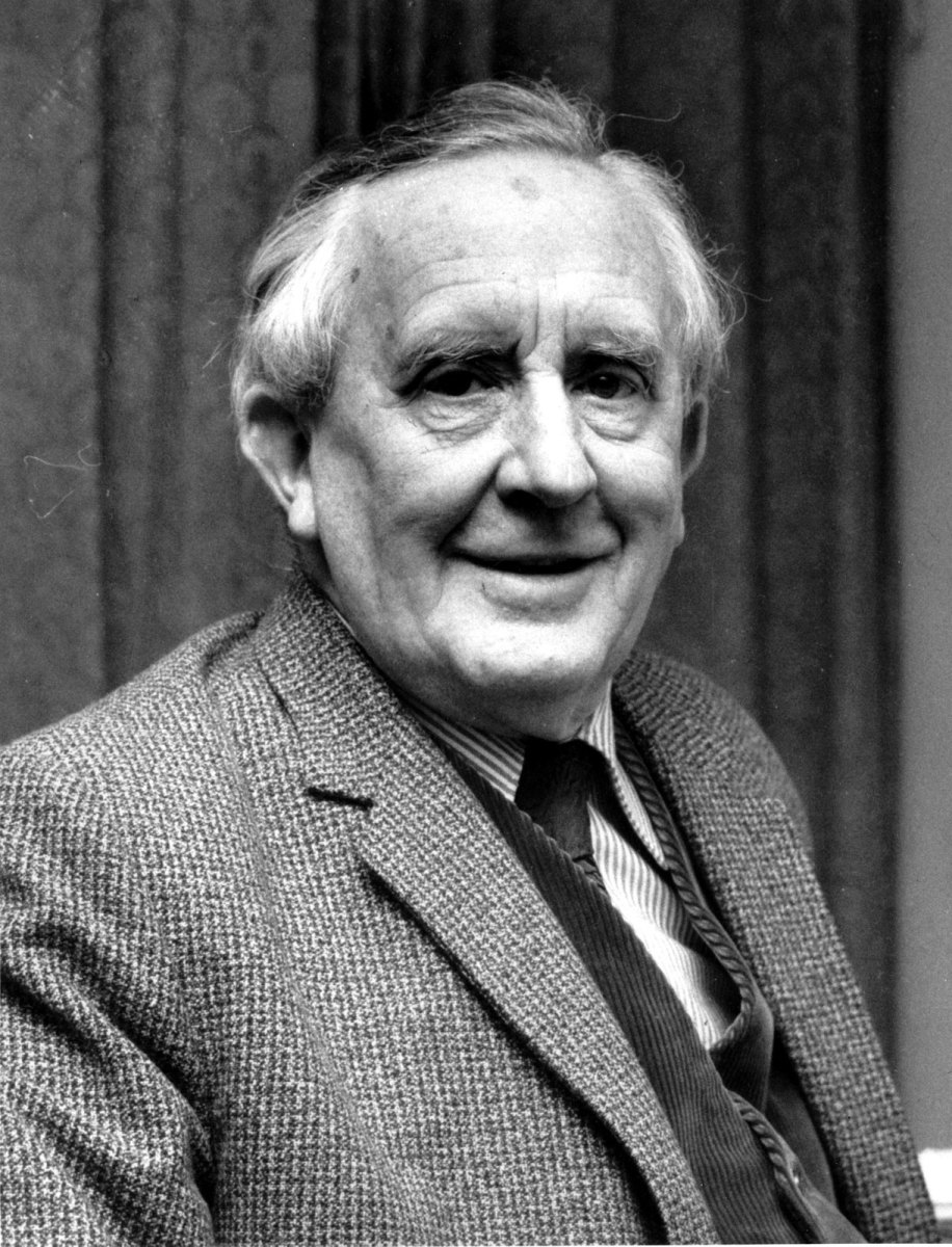 Tolkien in later life.