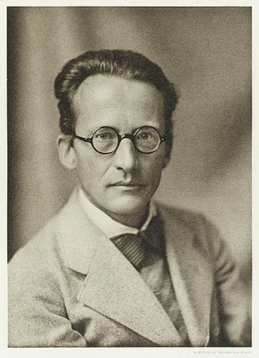 Erwin Schroedinger (1933), who formulated the wave function