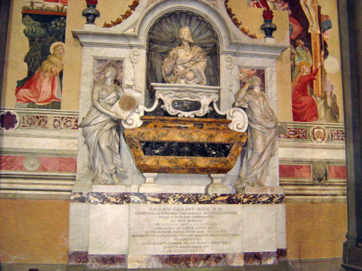 Tomb of Galileo - Santa Croce, Firenze