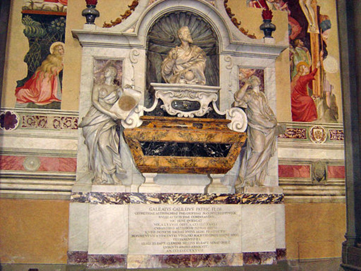 Tomb of Galileo - Santa Croce, Firenze
