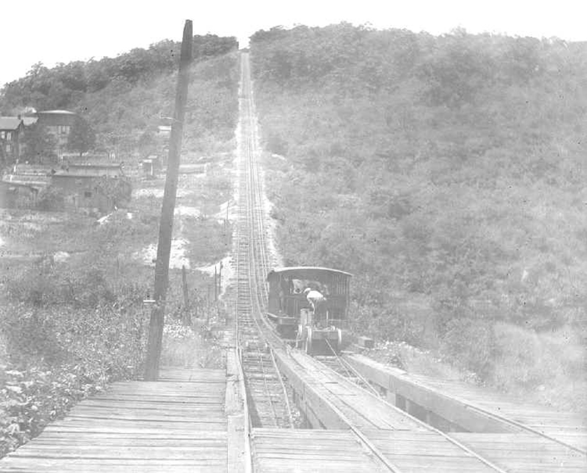 The Maunch Chunk Switchback Railway.