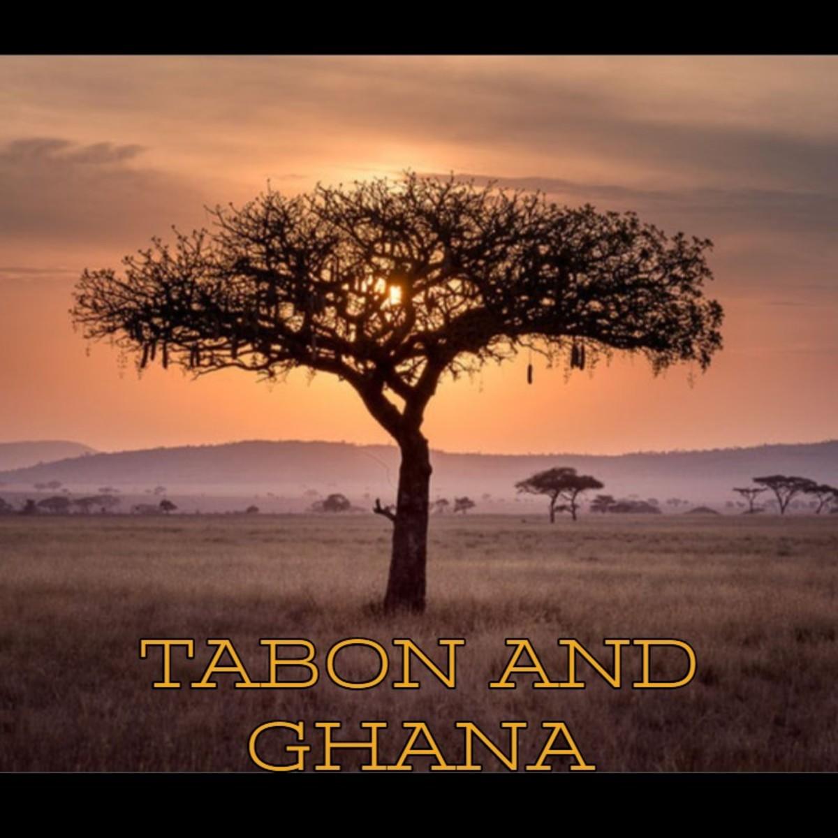Tabon and Ghana.
