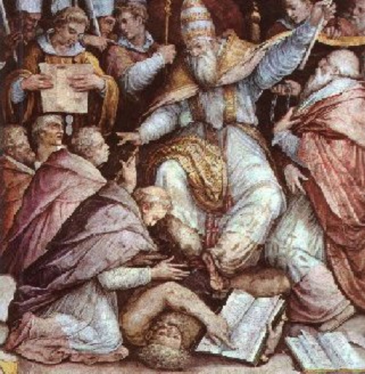 Henry IV receives one of his several excommunications.