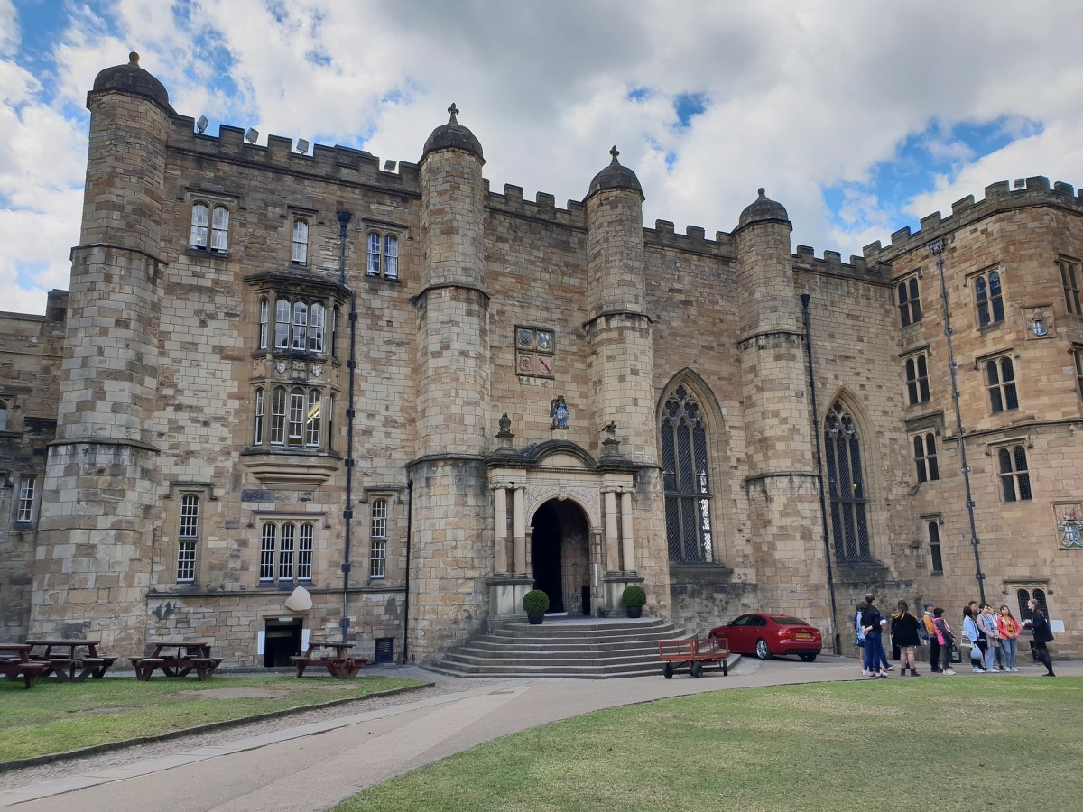 Durham Castle, which is part of Durham University - most university accommodation is not like this!