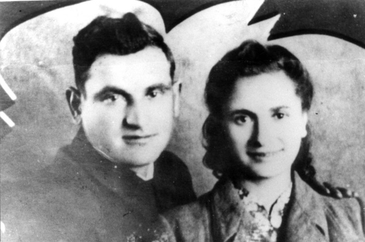 Asael and Chaja Bielski.  Despite surviving for several years in the Bielski camp alongside his brothers, Asael later died fighting the Germans after being drafted into the Red Army.