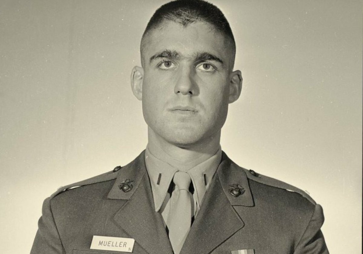 2nd Lieutenant Robert S. Mueller