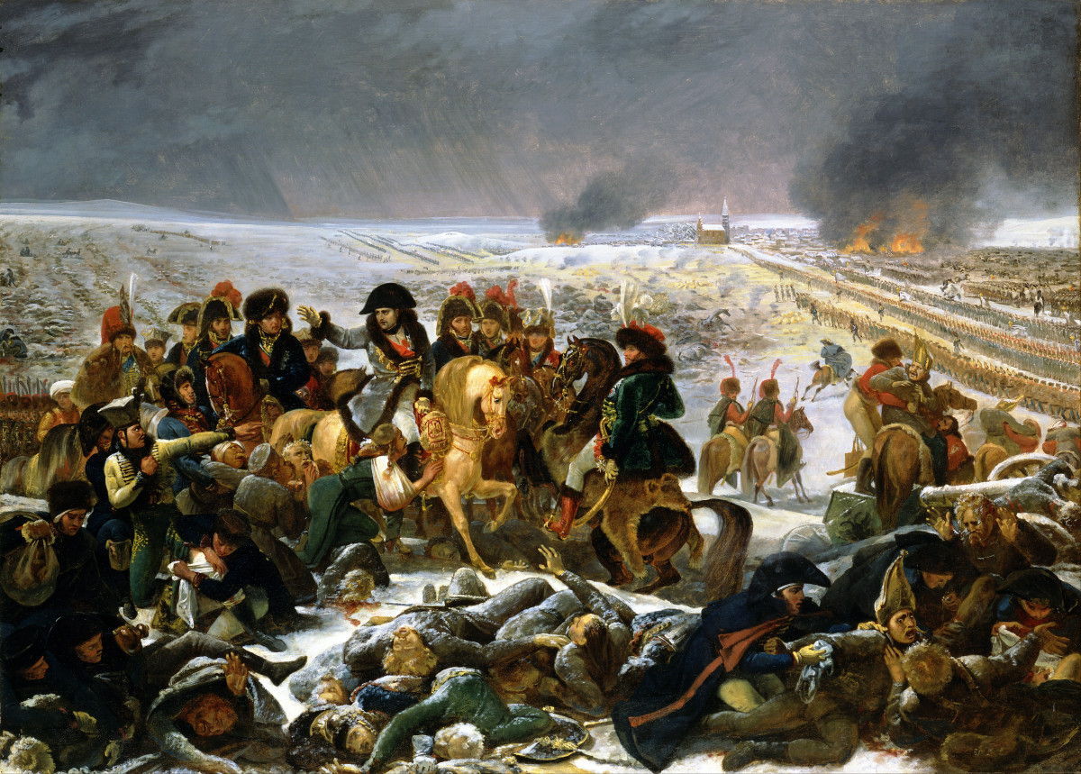 """Napoleon on the field of Eylau"" by Antoine-Jean Gros - Jomini was a witness and participant in this battle."