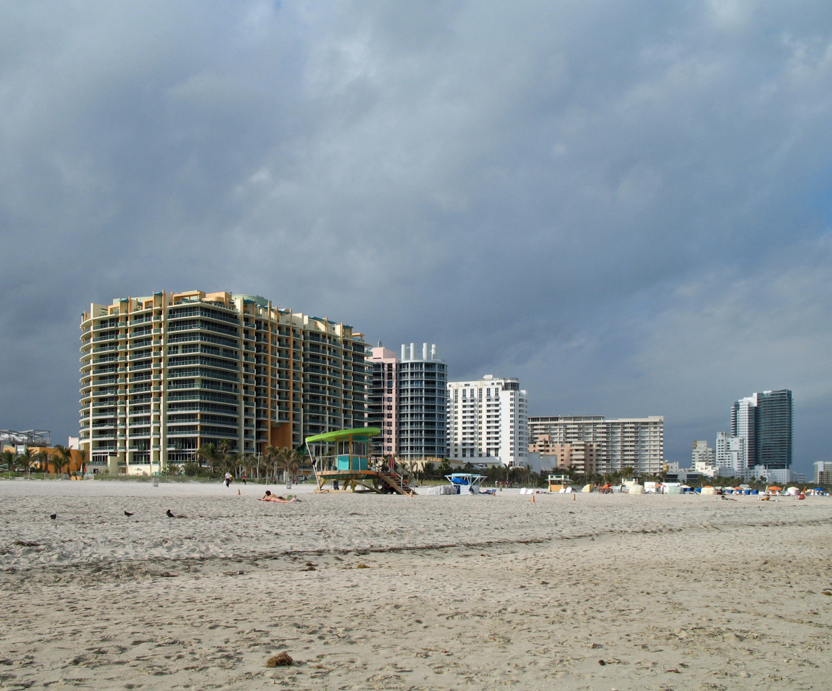 Modern Day Miami Beach, Florida