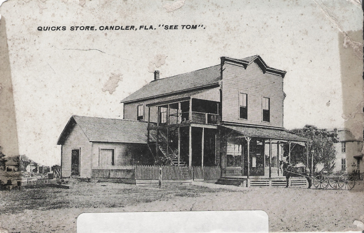 Trading Post 1800s
