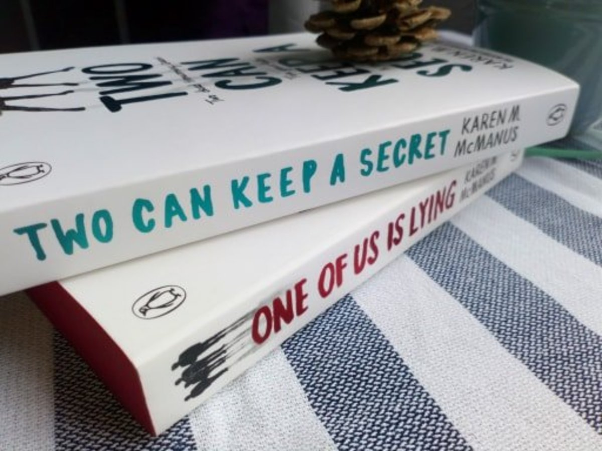 book-reviews-and-recommendations-two-can-keep-a-secret-by-karen-m-mcmanus