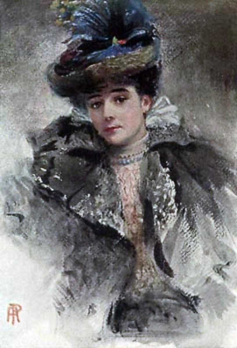 Gertrude Elizabeth Blood.