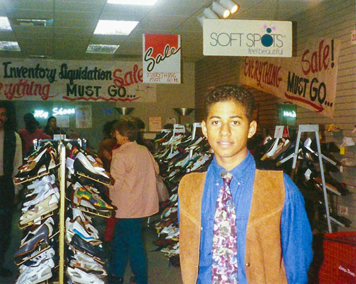 Opportunities for short-term job experience because homeschool is flexible.  This was a shoe store close-out sale that lasted for 3 days.  Good experience.