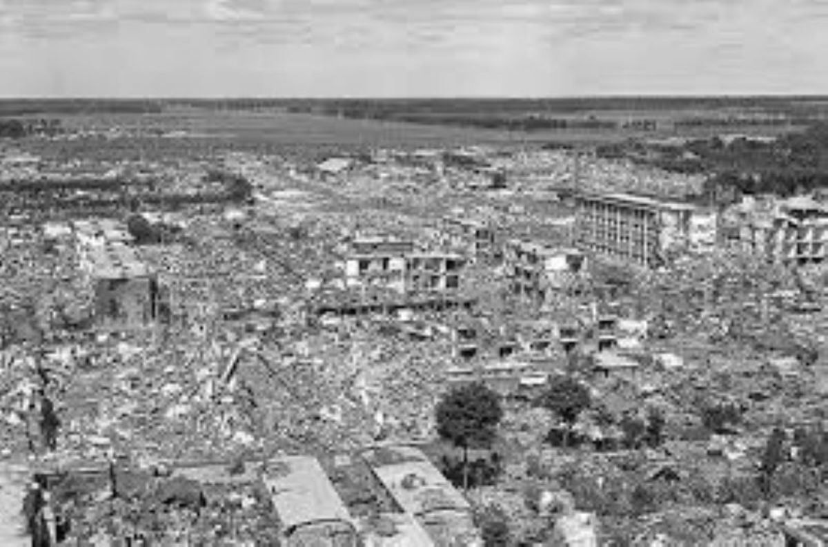 1976 Tangshan Earthquake. One of the most devastating earthquakes in human history.