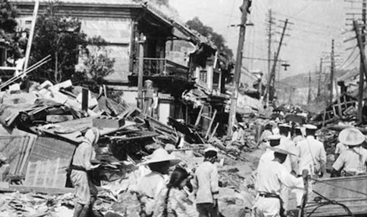 1920 Haiyuan Earthquake.