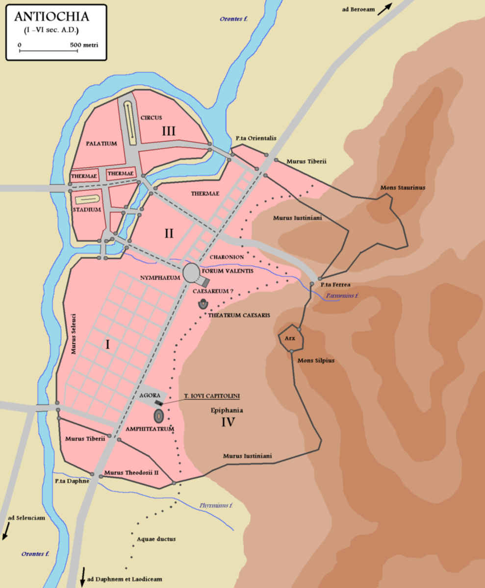 Antioch during the 6th Century.