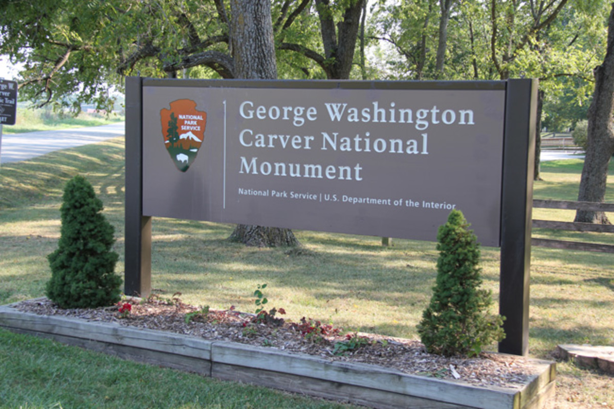 George Washington Carver National Monument and Museum in Diamond, Missouri.
