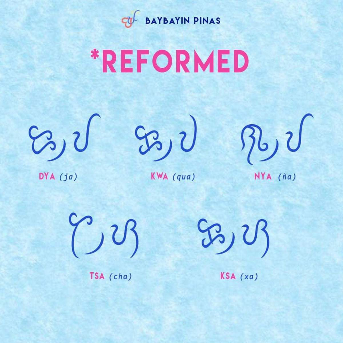 Some letters, syllables, words and letters does not exist in the Baybayin alphabet. Although, there are reformed ones you can use or make.