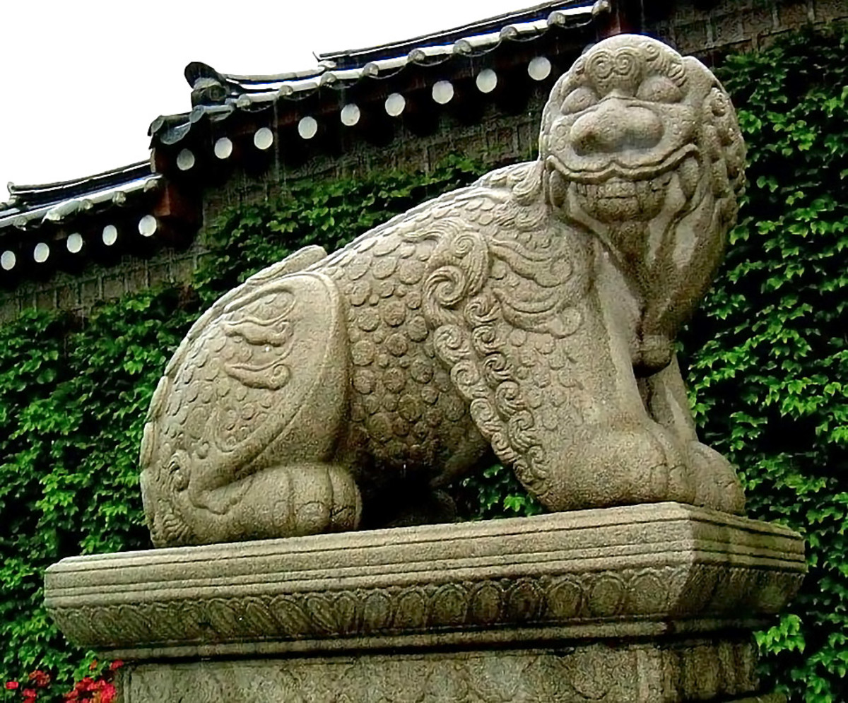 Xiezhi is known as Haetae in Korea, where it is also a symbol of justice and righteousness.