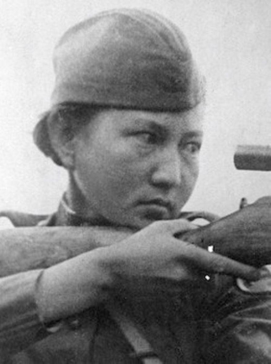 Aliya Moldagulova.