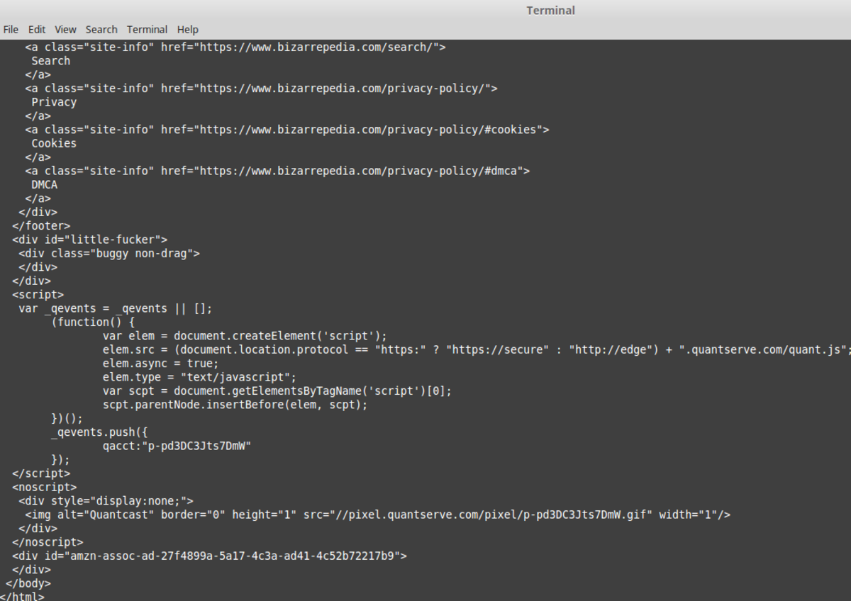The result after running the Python code.