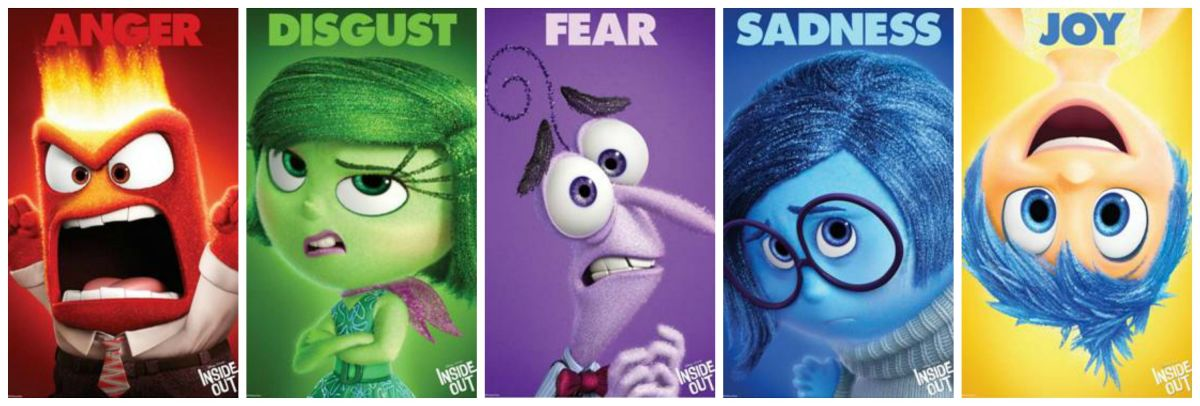 "Characters from Disney Pixar's ""Inside Out"""
