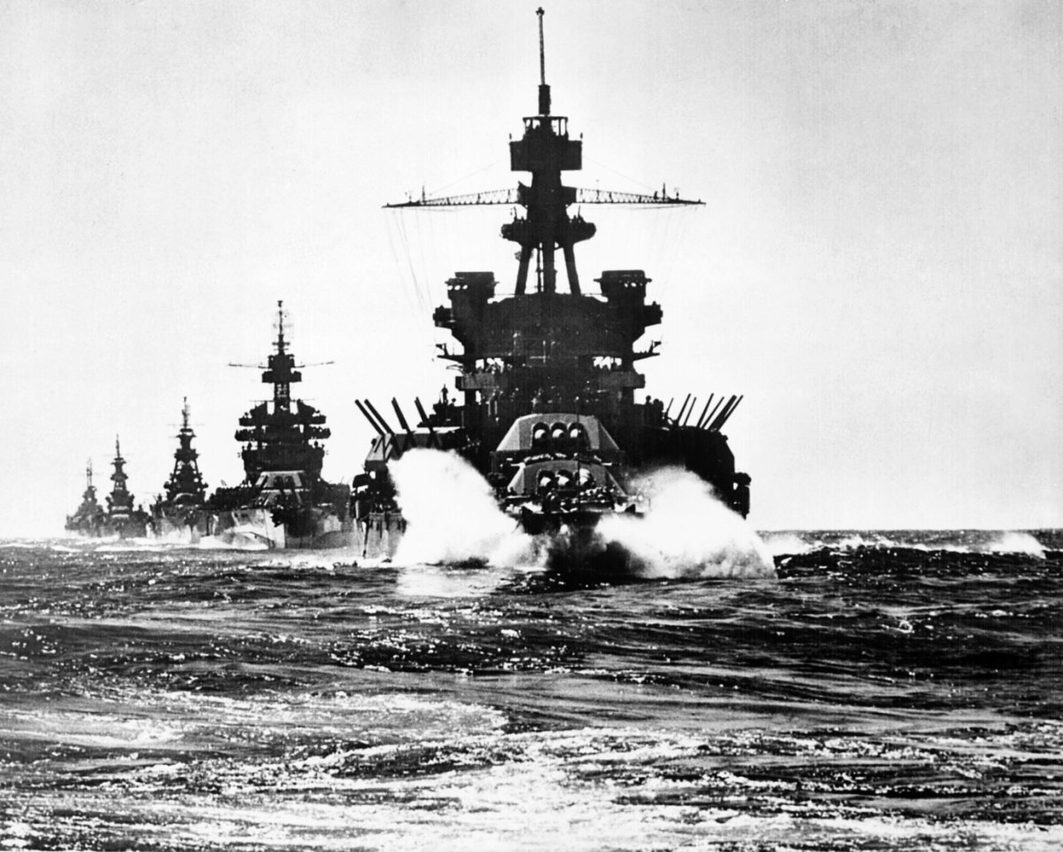 USS Pennsylvania with her post Pearl Harbor refit.