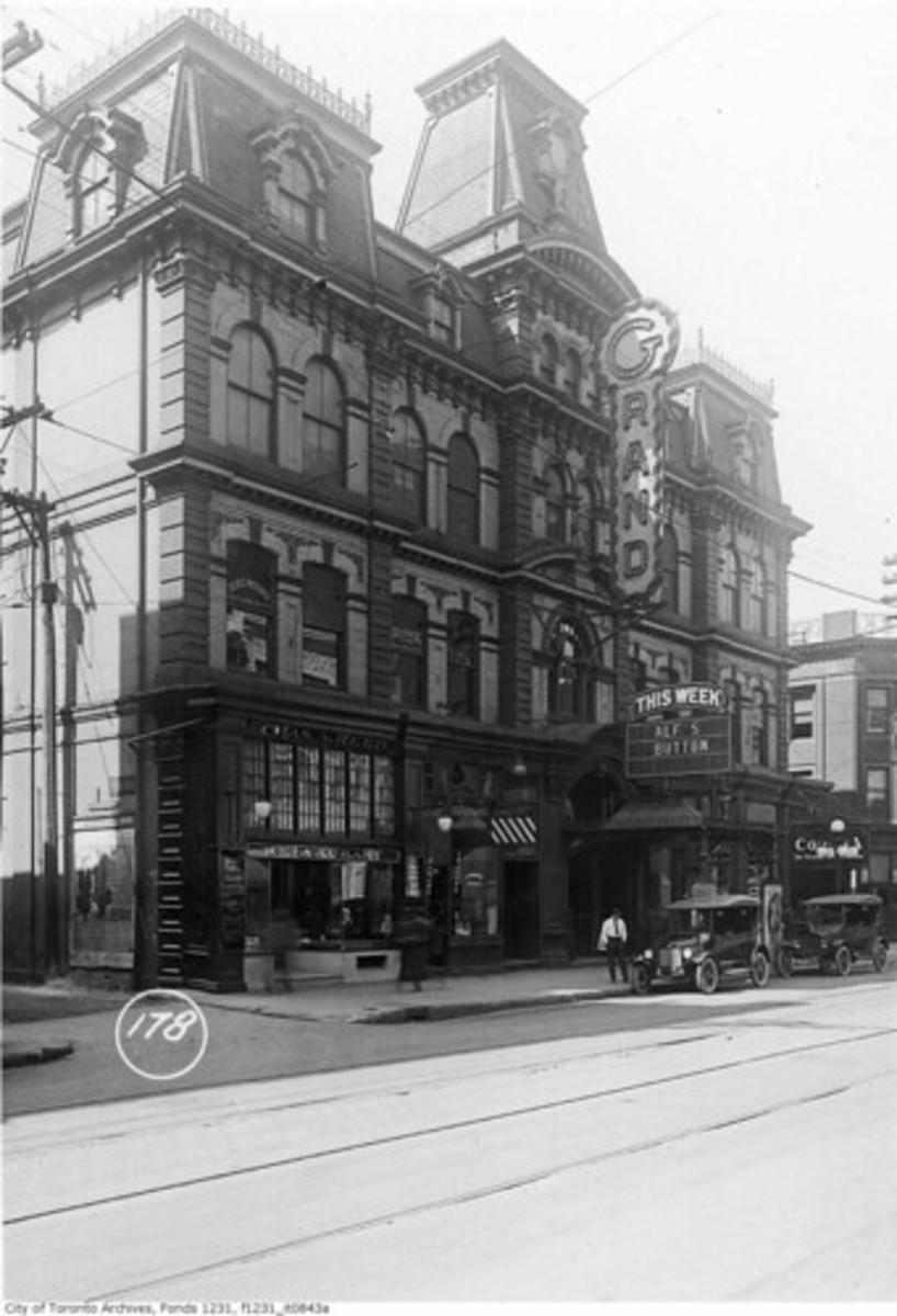 The Toronto Grand Opera House.