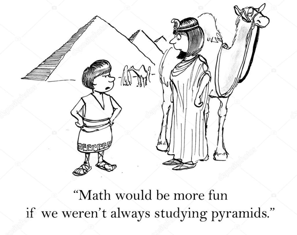 Pyramids Joke