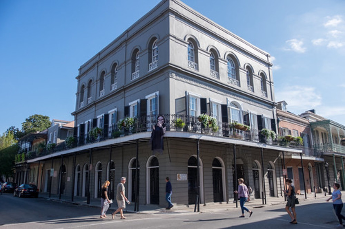 The LaLaurie House in 2015.